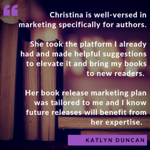 Author Marketing Plan